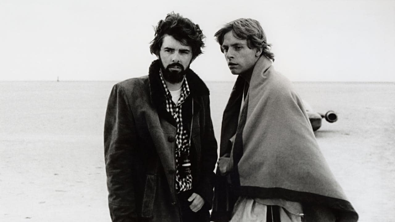 George Lucas og Mark Hamill