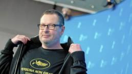 Lars Von Trier er tilbake i Cannes - Bilde: Joerg Carstensen / EPA
