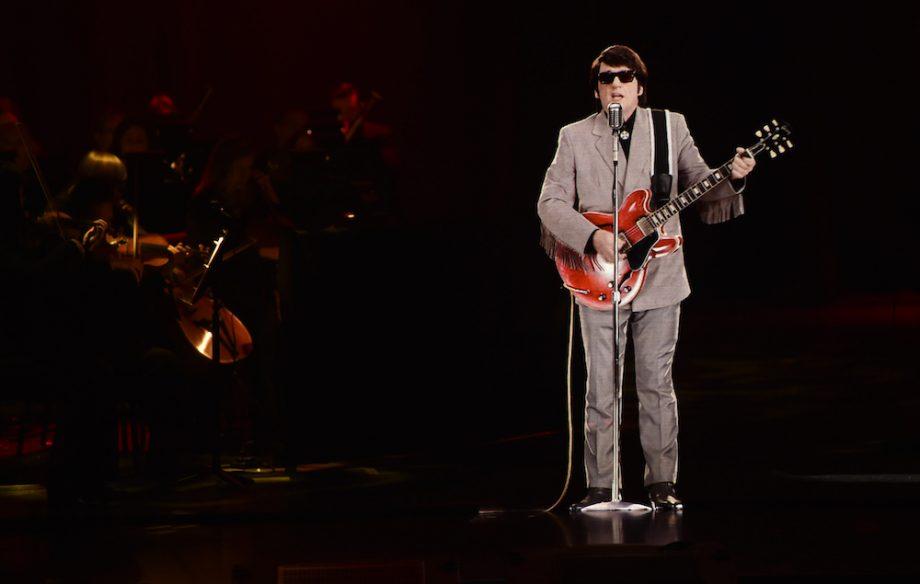 Roy Orbison som hologram på scene
