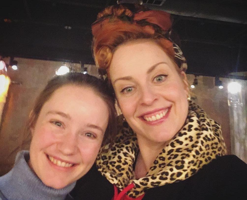 Silya Nymoen og Sigrid