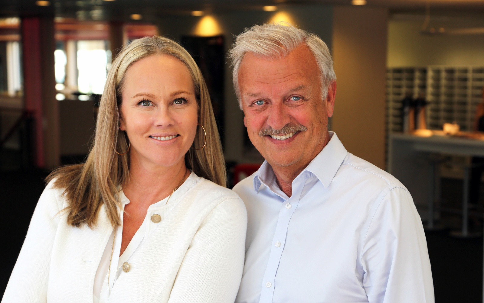 Halvard Flatland og Birgitte Seyfarth TV Norge Casino