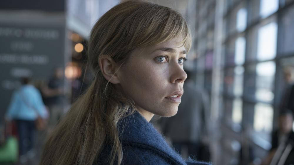 Birgitte Hjort Sørensen i serien 'Greyzone'
