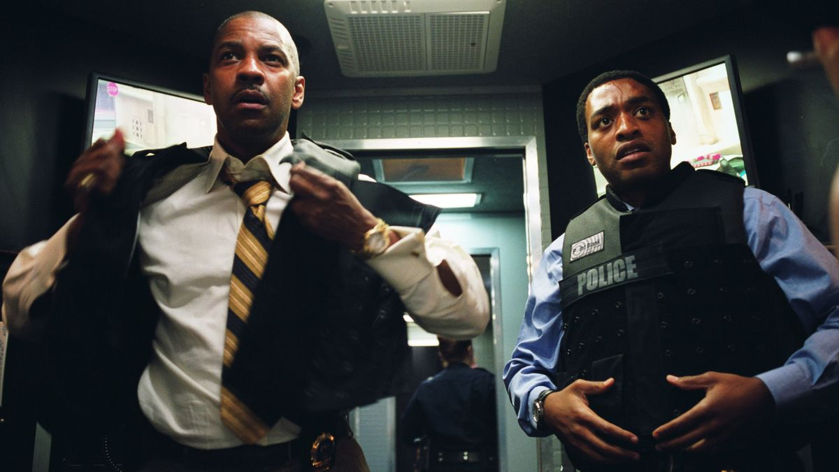 Denzel Washington og Chiwetel Ejiofor - Inside Man